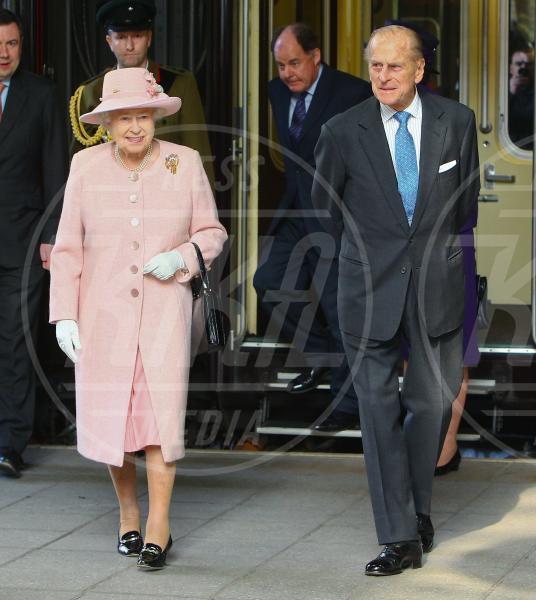 Regina Elisabetta II, Principe Filippo Duca di Edimburgo - Manchester - 23-03-2012 - Il Principe William e Kate Middleton, la coppia che ispira di più