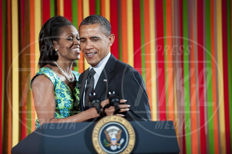 Michelle Obama, Barack Obama - Washington - 20-08-2012 - Michelle Obama testimonial contro l'obesità infantile