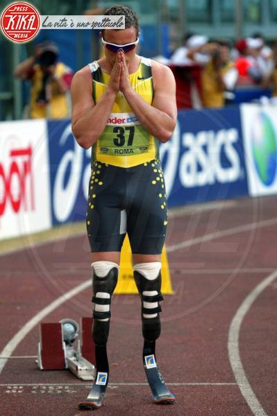 Oscar Pistorius - Roma - 13-07-2007 - Oscar Pistorius: ecco dove Reeva Steenkamp è stata uccisa