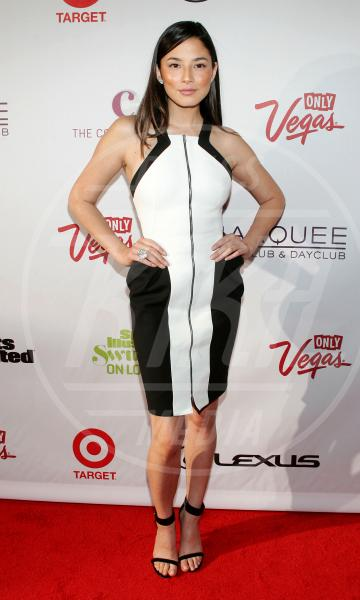 Jessica Gomes - Las Vegas - 14-02-2013 - Sul red carpet, l'optical è… l'optimum!