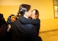 Fabrizio Corona, Nina Moric - Milano - 17-10-2012 - Asia Argento bacia Corona: