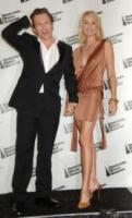 Christian Slater, Sharon Stone - Los Angeles - 22-11-2006 -  Sharon Stone e Christian Slater, insieme per Natale