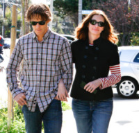Danny Moder, Julia Roberts - Beverly Hills - 16-02-2013 - Volata Oscar 2014: Julia Roberts sente odore di vittoria
