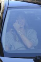 Belen Rodriguez - Roma - 15-02-2013 - Commozione delle celebrità, o lacrime di coccodrillo?
