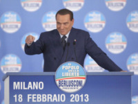 Silvio Berlusconi - Milano - 18-02-2013 - Hollywood: Jack Nicholson nei panni di Silvio Berlusconi