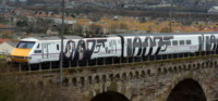 Treno - Newcastle - 16-02-2013 - Il treno di James Bond è partito da Londra