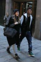 """Kevin-Prince Boateng, Melissa Satta - Milano - 08-02-2013 - Melissa Satta: """"Aspettiamo un bambino, siamo felici"""""""