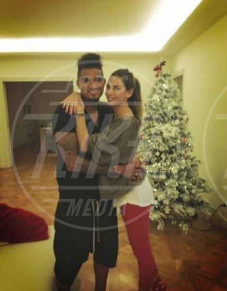 """Kevin-Prince Boateng, Melissa Satta - Milano - 03-01-2013 - Melissa Satta: """"Aspettiamo un bambino, siamo felici"""""""