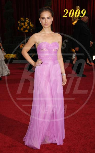Natalie Portman - Hollywood - 22-02-2009 - L'Oscar dell'eleganza 2008-2012: cinque anni di best dressed