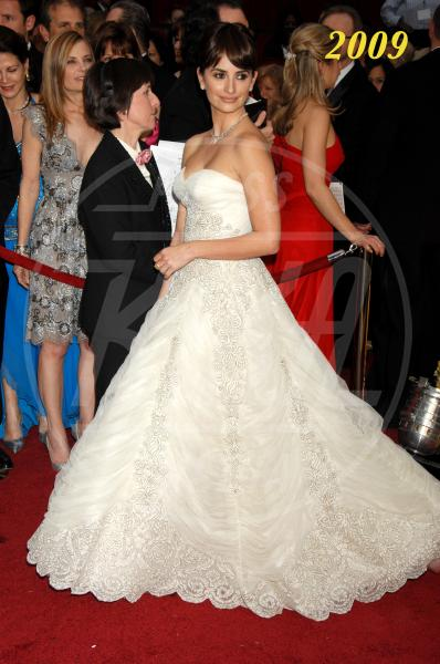 Penelope Cruz - Hollywood - 22-02-2009 - L'Oscar dell'eleganza 2008-2012: cinque anni di best dressed