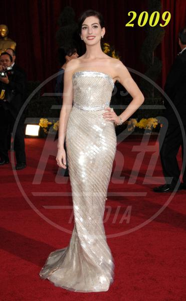 Anne Hathaway - Hollywood - 22-02-2009 - L'Oscar dell'eleganza 2008-2012: cinque anni di best dressed