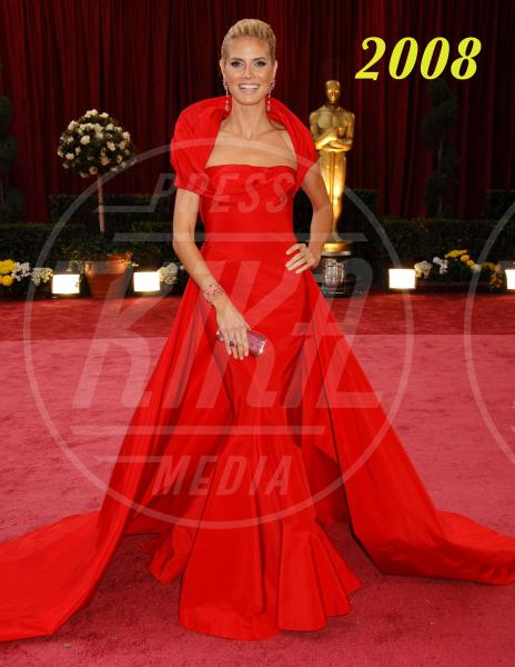 Heidi Klum - Hollywood - 24-02-2008 - L'Oscar dell'eleganza 2008-2012: cinque anni di best dressed