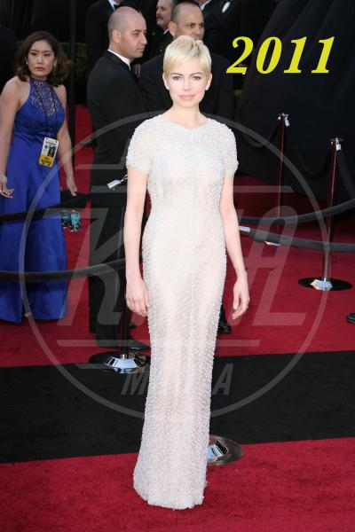 Michelle Williams - Hollywood - 27-02-2011 - L'Oscar dell'eleganza 2008-2012: cinque anni di best dressed