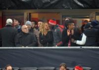 Fanny Neguesha, Mario Balotelli - Milano - 20-02-2013 - Balotelli e Fanny festeggiano la vittoria del Milan con un bacio