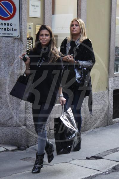 Claudia Galanti, Raffaella Zardo - Milano - 20-02-2013 - Rivali sul set? No, amiche per la pelle!