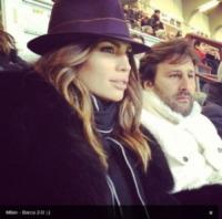 """Arnaud Mimran, Claudia Galanti - Milano - 21-02-2013 - Dillo con un tweet: Lola Ponce: """"Sarò una mamma rock"""""""