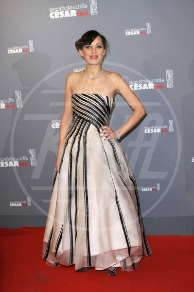 Marion Cotillard - Parigi - 22-02-2013 - Sul red carpet, l'optical è… l'optimum!