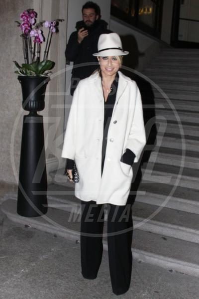 Maddalena Corvaglia - Milano - 23-02-2013 - En pendant con l'inverno con un cappotto bianco
