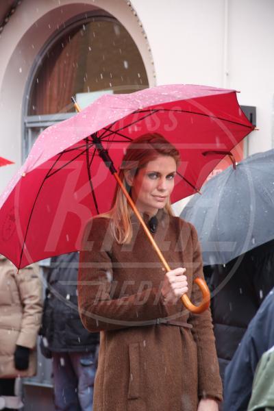 Filippa Lagerback - Milano - 24-02-2013 - La primavera non arriva. E tu, di che ombrello sei?