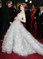 Amy Adams - Los Angeles - 24-02-2013 - Oscar 2013: revival anni '50 per le dive sul red carpet