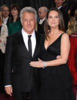 Lisa Gottsegen, Dustin Hoffman - Hollywood - 24-02-2013 - Dustin Hoffman presto in tv in Medici: Masters of Florence