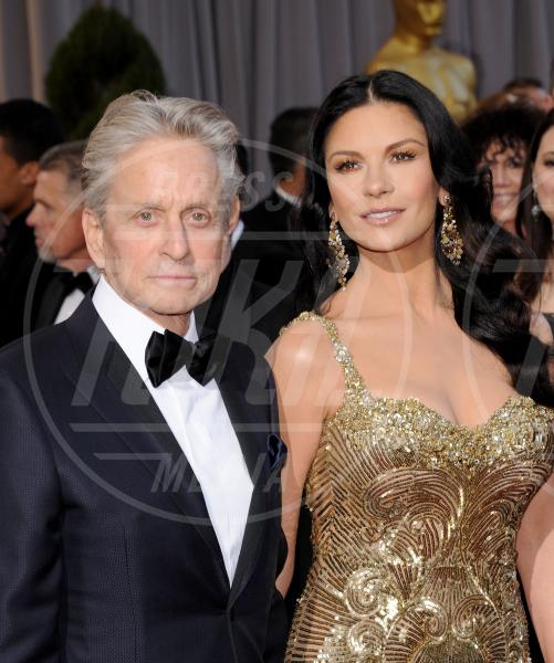 "Catherine Zeta Jones, Michael Douglas - Hollywood - 24-02-2013 - Michael Douglas: ""Catherine e io stiamo bene"""