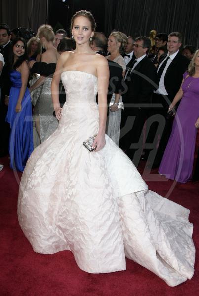 Jennifer Lawrence - Los Angeles - 24-02-2013 - Oscar dell'eleganza 2010-2014: 5 anni di best dressed
