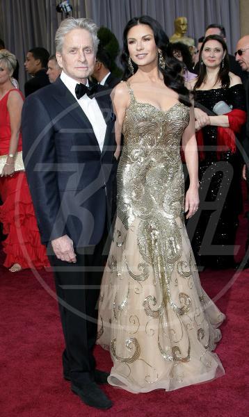 Catherine Zeta Jones, Michael Douglas - Los Angeles - 24-02-2013 - Di nuovo insieme: Michael Douglas torna dalla sua Catherine