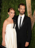 Benjamin Millepied, Natalie Portman - West Hollywood - 24-02-2013 - Natalie Portman ha chiesto la cittadinanza francese