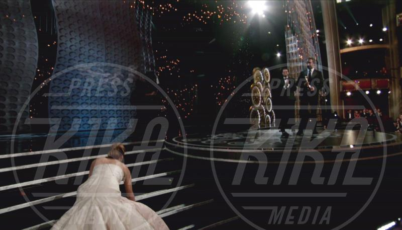 Jennifer Lawrence - Los Angeles - 24-02-2013 - Sabrina Impacciatore & C., quando lo scivolone è epico