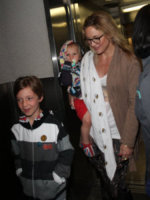 Bingham Bellamy, Ryder Robinson, Kate Hudson - Los Angeles - 27-02-2013 - Mamme single? Sì, con stile e... di successo!