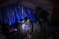 Campo profughi - IDLIB - 07-02-2013 - Siria: i bambini del campo profughi di Atma