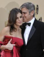 Elisabetta Canalis, George Clooney - Hollywood - 05-04-2012 - La paura di Elisabetta Canalis? Restare zitella!