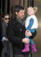 Aviana Olea Le Gallo, Darren Le Gallo, Amy Adams - New York - 20-04-2012 - Il cuore di un padre è un capolavoro della natura
