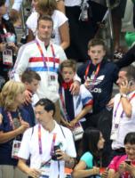Brooklyn, Cruz, David Beckham, Romeo - Londra - 11-08-2012 - Il cuore di un padre è un capolavoro della natura