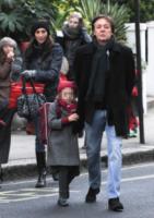 Beatrice McCartney, Nancy Shevell, Paul McCartney - Londra - 15-01-2013 - Il cuore di un padre è un capolavoro della natura