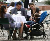 Gianluigi Buffon, Alena Seredova - Portofino - 13-04-2009 - Il cuore di un padre è un capolavoro della natura