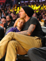 Romeo Beckham, David Beckham - Los Angeles - 16-08-2008 - Il cuore di un padre è un capolavoro della natura