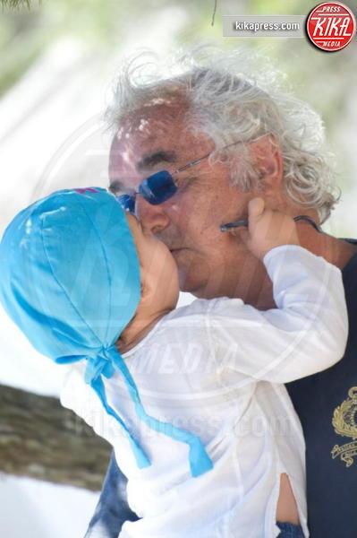 Nathan Falco Briatore, Flavio Briatore - 03-10-2012 - Mammo son tanto felice, il lato paterno dei vip