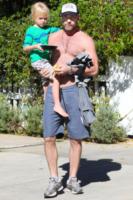 Samuel Schreiber, Liev Schreiber - Santa Monica - 20-01-2013 - Il cuore di un padre è un capolavoro della natura