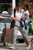 Zahara Jolie Pitt, Brad Pitt - Los Angeles - 24-01-2010 - Il cuore di un padre è un capolavoro della natura