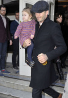 Harper Seven Beckham, David Beckham - Londra - 18-02-2013 - Il cuore di un padre è un capolavoro della natura