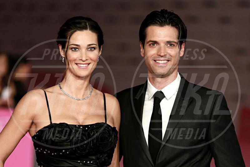 Sergio Arcuri, Manuela Arcuri - Roma - 04-10-2012 - Il mondo è bello vicino a mio fratello