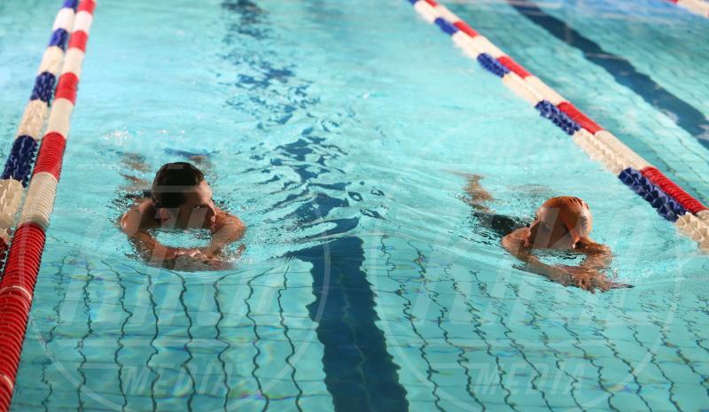 Florent Manaudou, Laure Manaudou - 27-11-2012 - Il mondo è bello vicino a mio fratello