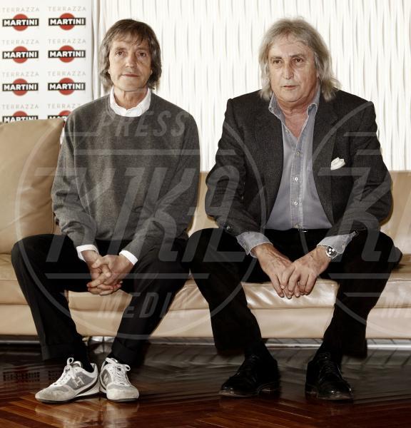 Enrico Vanzina, Carlo Vanzina - Milano - 27-03-2012 - Il mondo è bello vicino a mio fratello