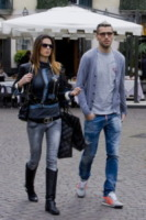 Shopping a Napoli per Valon Behrami e Elena Bonzanni ...