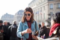 Hanneli Mustaparta - Parigi - 05-03-2013 - Parigi Fashion Week: quando la passerella è en plein air