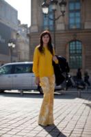 Valentina Siragusa - Parigi - 05-03-2013 - Parigi Fashion Week: quando la passerella è en plein air
