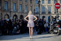 Elena Perminova - Parigi - 05-03-2013 - Parigi Fashion Week: quando la passerella è en plein air