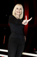 raffaella carr224 torna in tv con the voice of italy foto